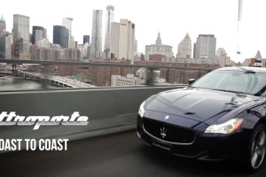 Maserati, USA coast-to-coast road trip
