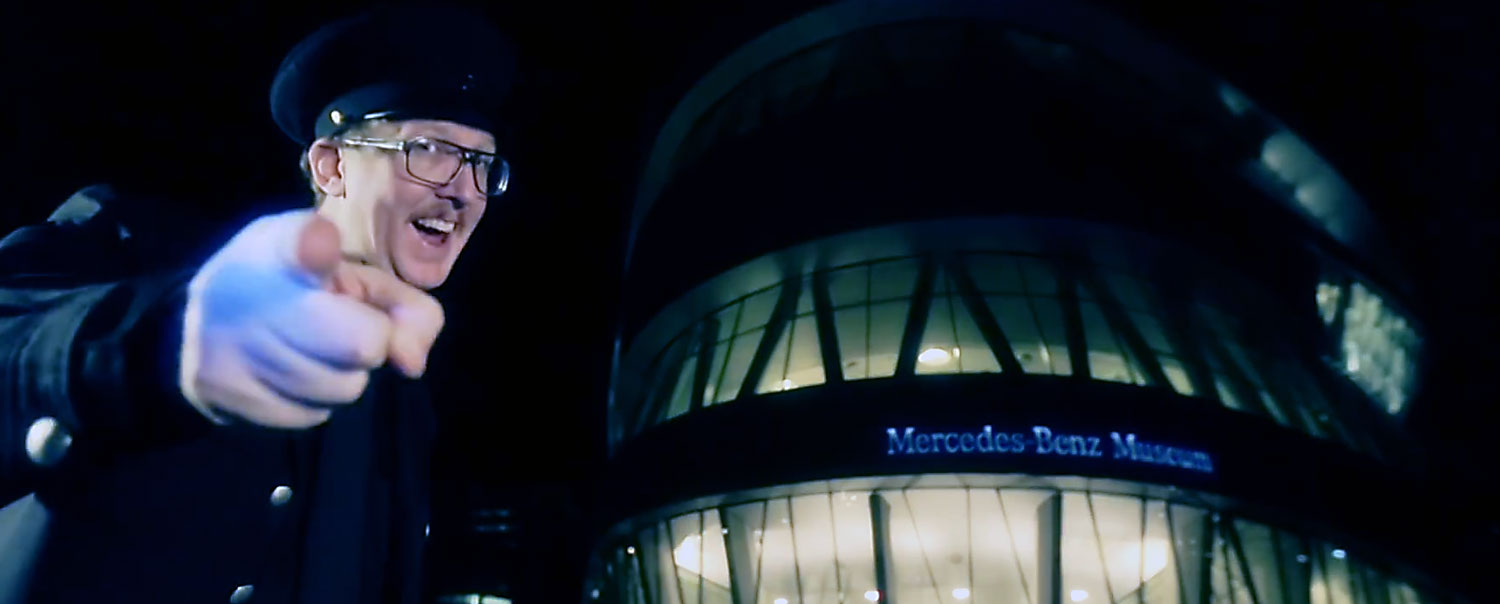 Mercedes-Benz new Museum Monday web series