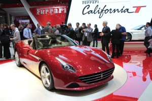 "Ferrari's 2014 California ""T"" model"
