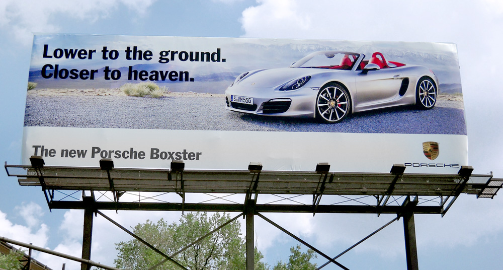 Out-of-home (OOH) high-end auto advertising: does it work?