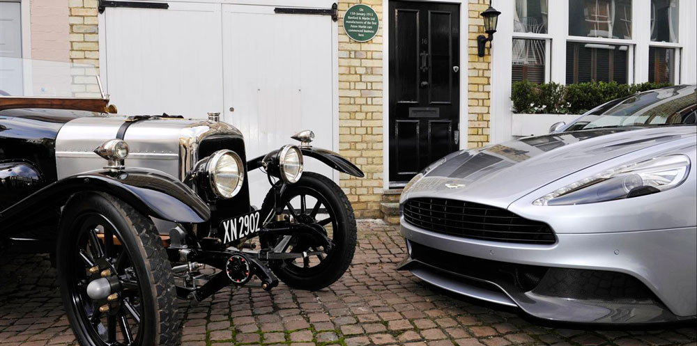 Aston Martin: 100 years of sports car excellence
