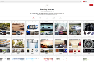 High-end automakers are starting to use Pinterest