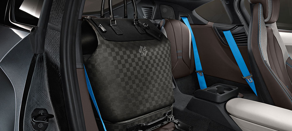 BMW i8 and Louis Vuitton are the latest in fashionable driving