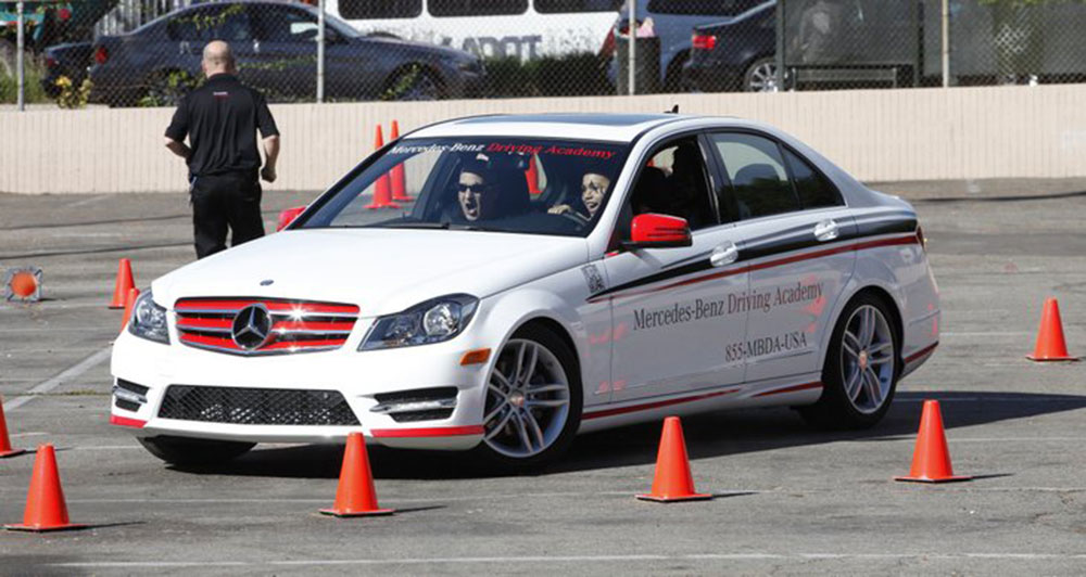 Mercedes Benzu0027s DMV Certified Teen Driving Academy Expands