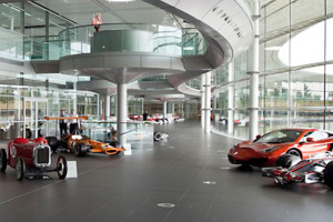McLaren wants to distance its brand from its racing roots?