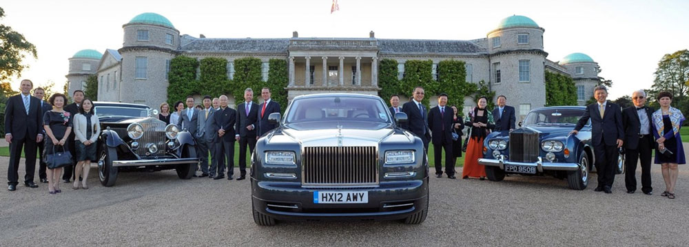 Rolls-Royce meets with China's Elite Club