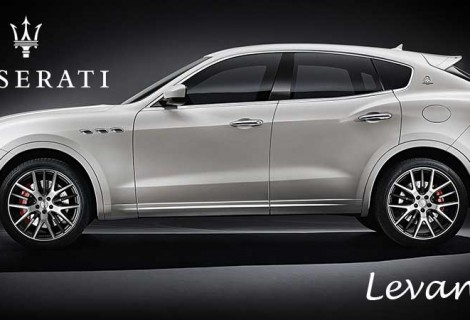 The new Maserati of SUVs is here. It's called Levante.